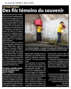 la voix du Cantal 08 2014